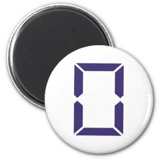 Number - Zero - 0 Magnet