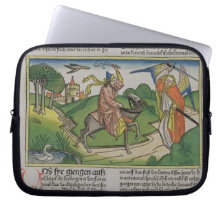 Numbers 22 20-35 Balaam's talking ass, from the 'N Laptop Sleeve