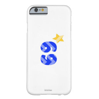 numbers barely there iPhone 6 case