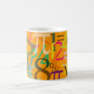 Numbers, Currencies mug