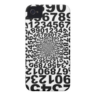 Numbers iPhone 4 Case
