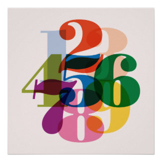 Numbers Print