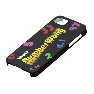 NumberWang iphone 5 Case