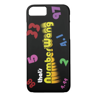 NumberWang iPhone 7 case