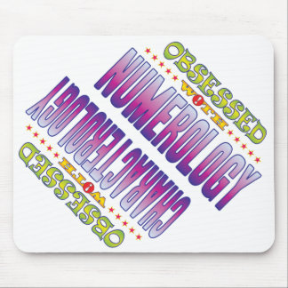 Numerology 2 Obsessed Mouse Pad