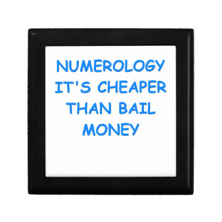 numerology keepsake boxes