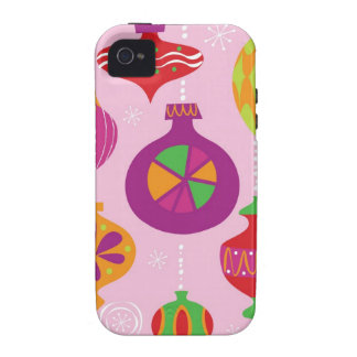 Numerous Christmas decoration illustrated in diffe iPhone 4/4S Cover