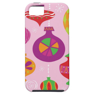Numerous Christmas decoration illustrated in diffe iPhone 5 Cover