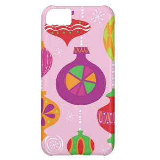 Numerous Christmas decoration illustrated in diffe iPhone 5C Cover