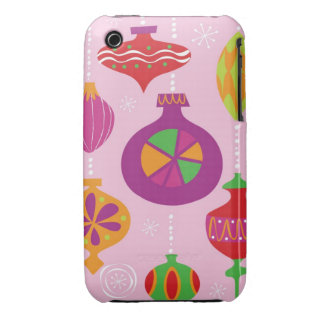 Numerous Christmas decoration illustrated in diffe Case-Mate iPhone 3 Case