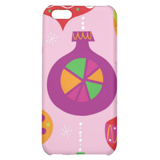 Numerous Christmas decoration illustrated in diffe iPhone 5C Case