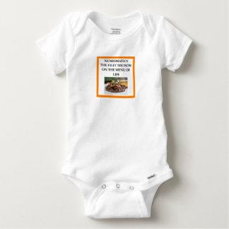 NUMISMATICS BABY ONESIE