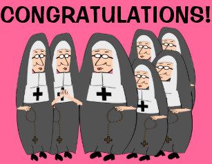 Nuns jubilee cards zazzle au nun jubilee cards m4hsunfo