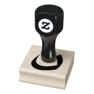 """Nun or Noon """"Christian"""" Rubber Stamp"""