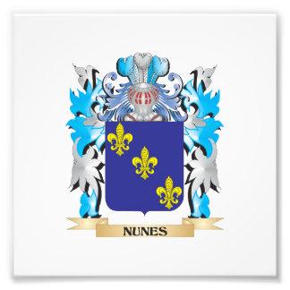 Nunes Coat of Arms - Family Crest Photographic Print