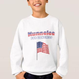 Nunnelee for Congress Patriotic American Flag Sweatshirt