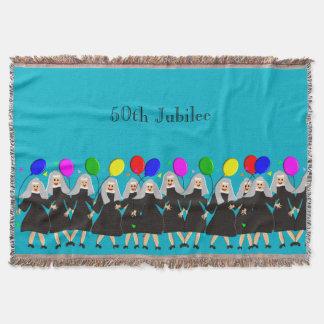 Nuns 50th Golden Jubilee Woven Blanket #5