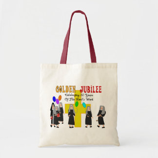 Nuns Golden Jubilee Gifts Tote Bag