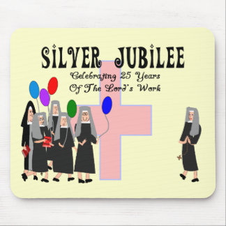Nuns Silver Jubilee Gifts Mouse Pad