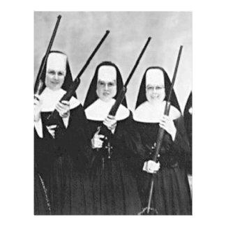 Nuns With Guns 21.5 Cm X 28 Cm Flyer