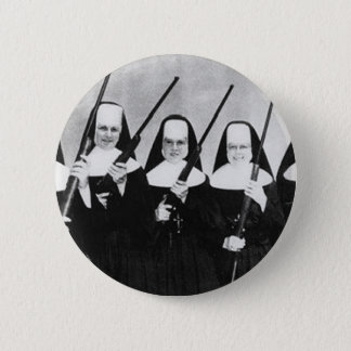 Nuns With Guns 6 Cm Round Badge