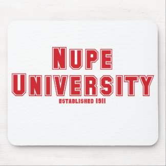 Nupe University Mouse Pad