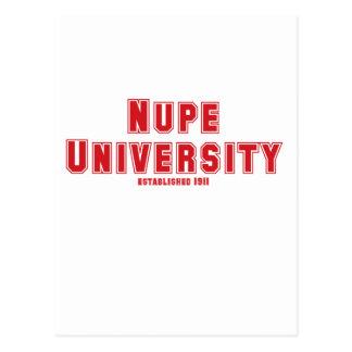 Nupe University Postcard