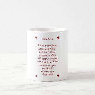 Nur Dich Basic White Mug