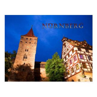 Nuremberg 001B Postcard