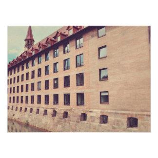 Nuremberg architecture custom invites