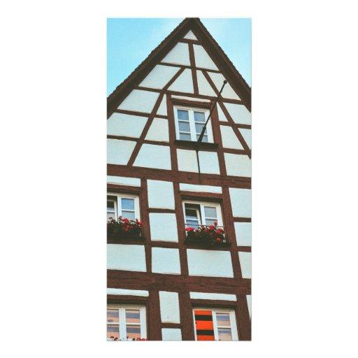 Nuremberg architecture rack card