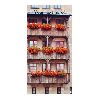 Nuremberg building custom photo card
