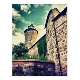 Nuremberg castle postcard
