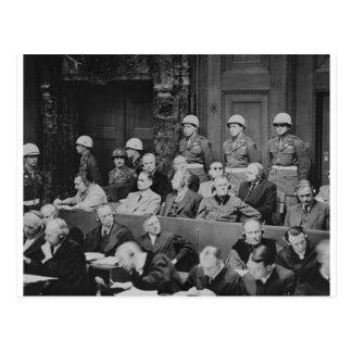 Nuremberg Trials Postcard