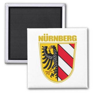 Nurnberg (Nuremberg) Square Magnet