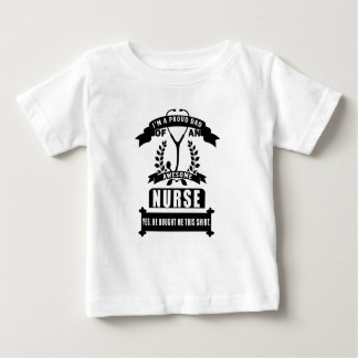nurse and dad baby T-Shirt