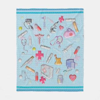 Nurse and Patient Gift Ideas Fleece Blanket