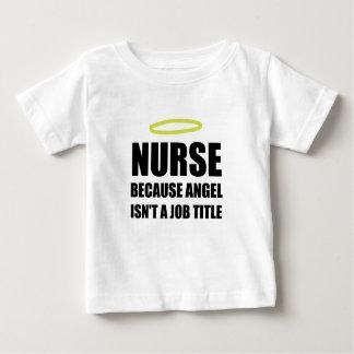Nurse Angel Job Title Baby T-Shirt