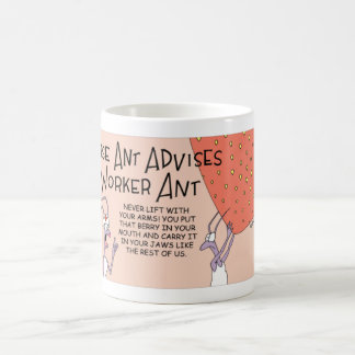 Nurse Ant and the worker ant Coffee Mug