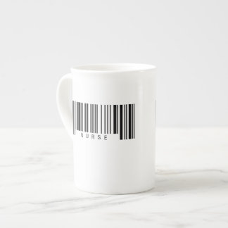 Nurse Barcode Tea Cup