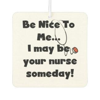 Nurse Be Nice to Me Air Freshner