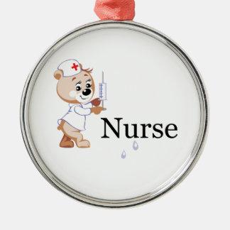 Nurse Bear Ornaments