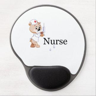 Nurse Bear Gel Mouse Pads