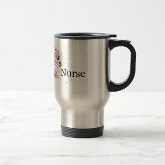 Nurse Bear Coffee Mugs