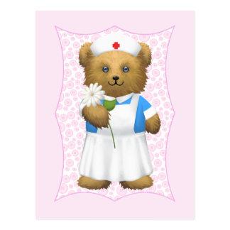 Nurse Bear - Teddy Bear Post Cards