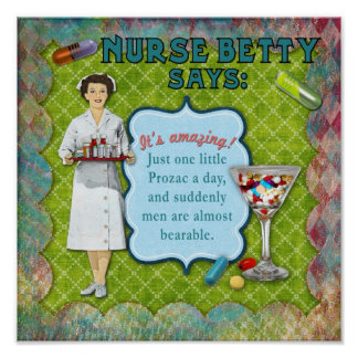 Nurse Betty Says Poster