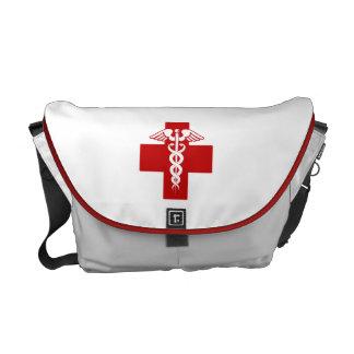 Nurse Caduceus Messenger Bags