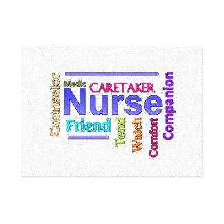 Nurse Canvas Art