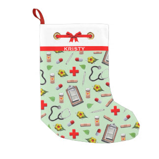Nurse Christmas Small Christmas Stocking