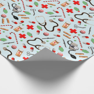 Nurse Christmas Wrapping Paper